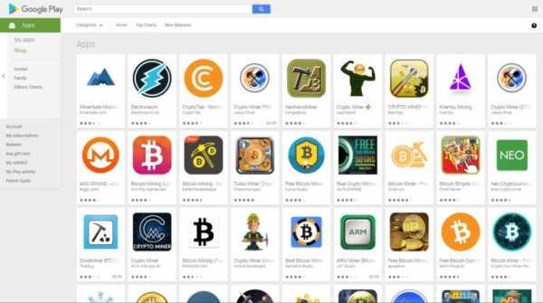 Разработчики нашли уязвимость в запрете приложений для майнинга от Google cryptowiki.ru